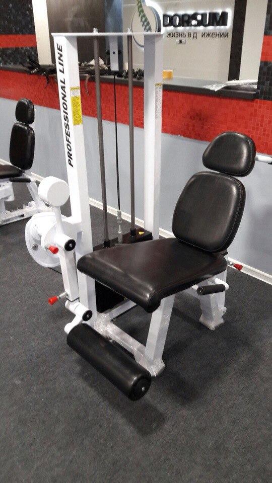 ТС-218, Тренажер для мышц сгибателей-разгибателей бедра комбинированный, ЭКТА