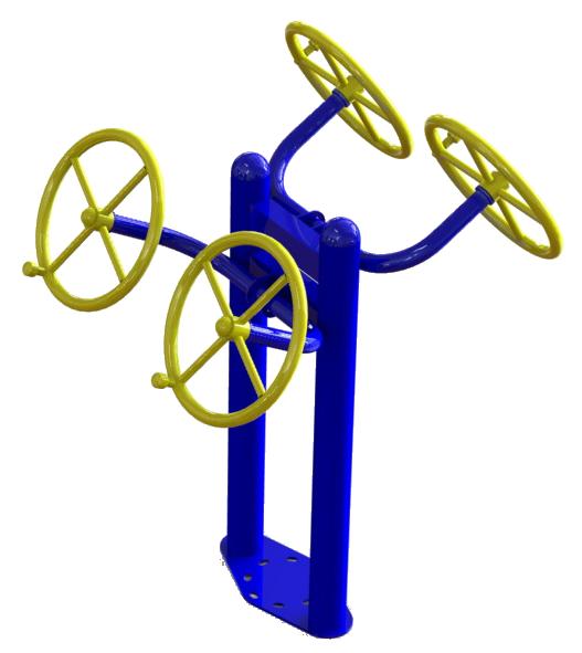 SG 122 Тренажер для мышц плечевого пояса независимый
